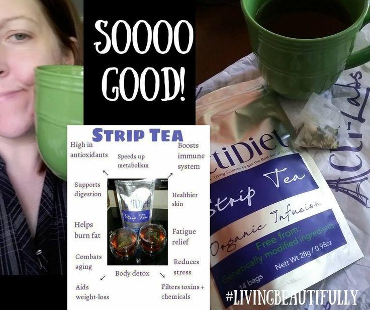Strip tea #detoxtea #detoxification #diet #actiamber