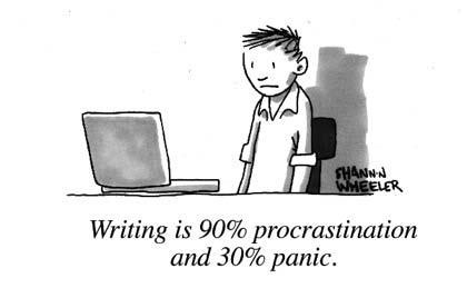 writing procrastination