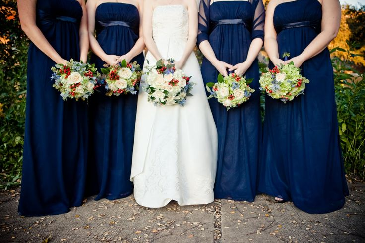 Navy blue is fixed to a big wedding trend in 2014 in terms of colour schemes, and not simply when combined with a nautical themed wedding. Description from visualchaos.co.uk. I searched for this on bing.com/images