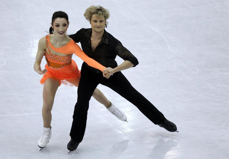 2012 World Figure Skating Championships - Meryl Davis and Charlie White - In Nice, Provence-Alpes-Cote d'Azur.