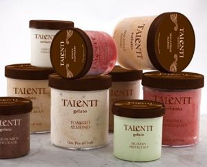 Talenti gelato - I'm obsessed. Coconut and chocolate banana. Find @ Whole Foods