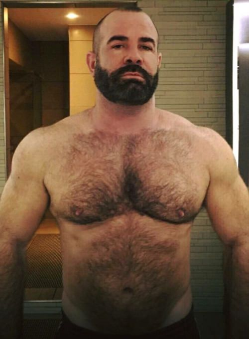 hairy bear man