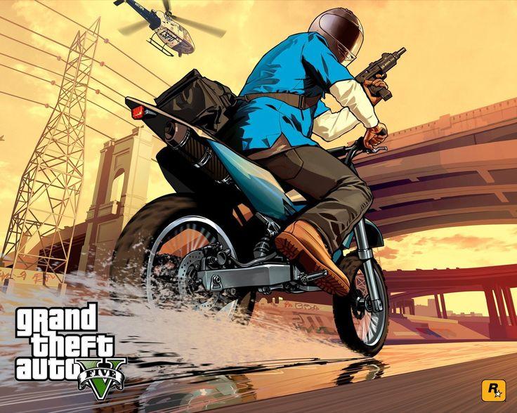 Theft auto rockstar games gta v chase (1280x1024, auto, rockstar, games, gta, chase)  via www.allwallpaper.in