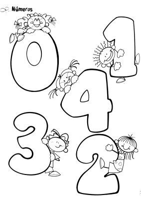 nombres de 0 à 4