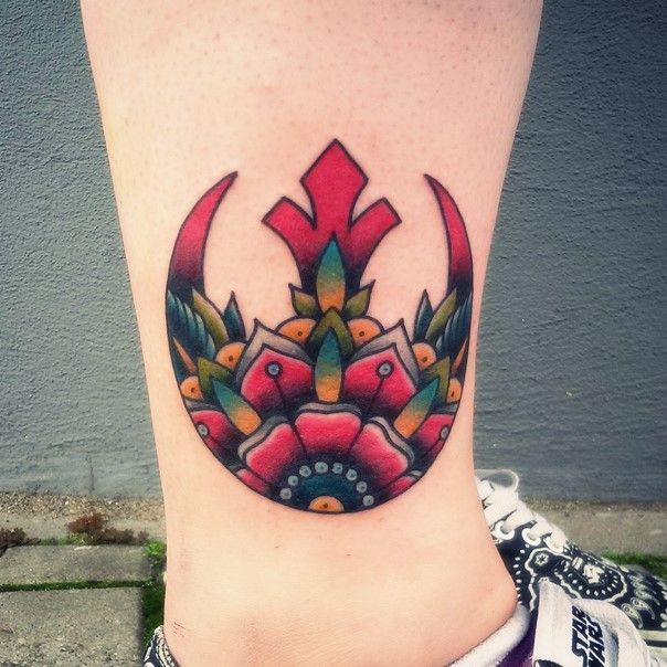 star wars rebel alliance tattoo-14