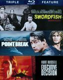Executive Decision/Point Break/Swordfish [3 Discs] [Blu-ray], 16485044
