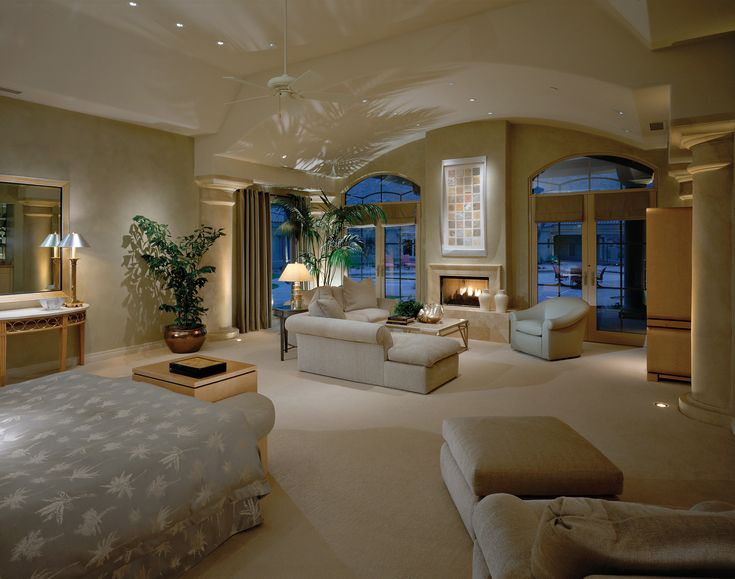 Superb Master Bedroom Sitting Room Decorating Ideas Part - 9: Def Want A HUGE Bedroom Like This!