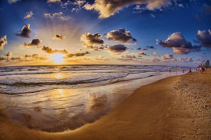 Photo Sunset in Tel Aviv by Asaf Amran on 500px
