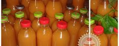 Házilag készített italok (Kubu), rostos gyümölcslevek...