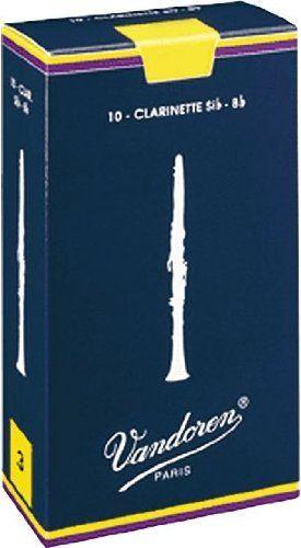 Vandoren Traditional Bb Clarinet Reeds #3.5, Box of 10 by Vandoren. $19.99. Traditional Bb Clarinet Reeds #3.5, Box of 10. Save 51% Off!