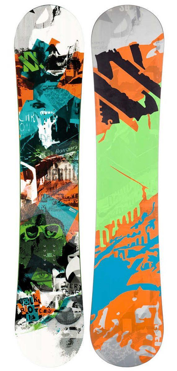 £270.00 (Save £130.00) Volkl Riot Squad Snowboard 2013 | Mens | Snowboards | The Board Basement