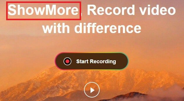 ShowMore+Video+Recorder+Free+Download+For+Windows+PC
