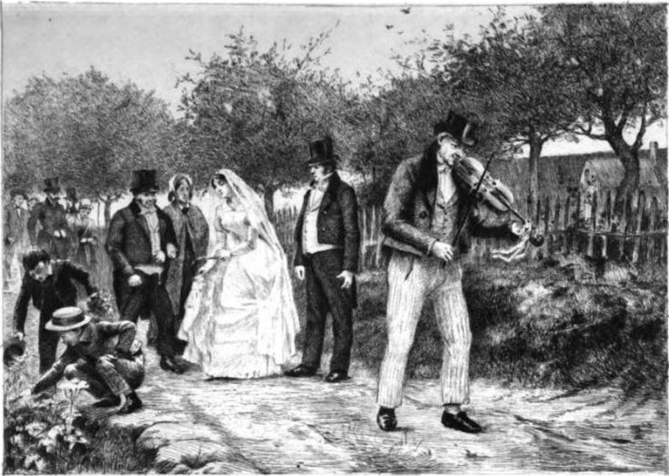 wedding of Emma and Charles Bovary