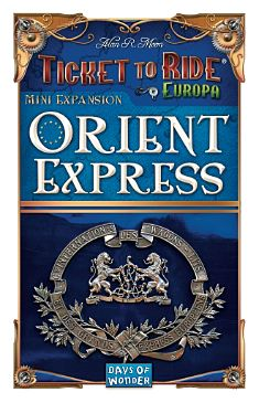 Ticket to Ride Orient Express expansion