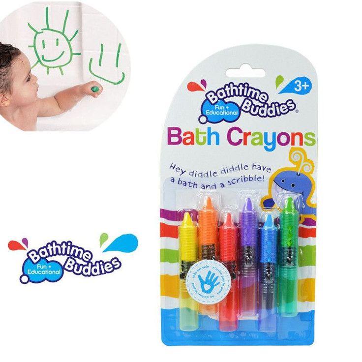 Washable Bath Crayons