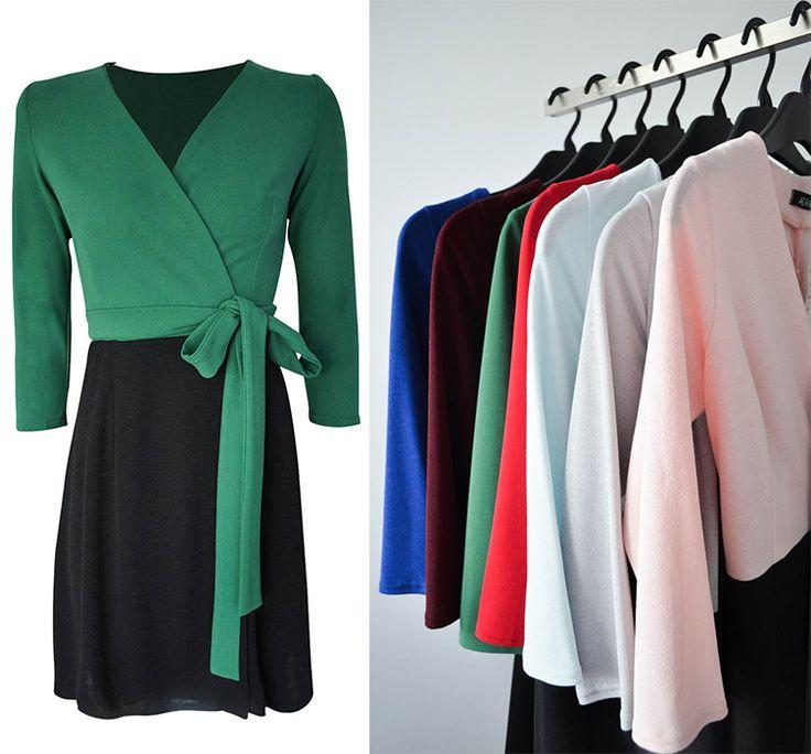 Rochia R677 este un model nou, perfect pentru perioada de toamnă. Tu ai achiziționat-o?     Link rochie R677: http://www.adromcollection.ro/rochii/782-rochie-angro-r677.html