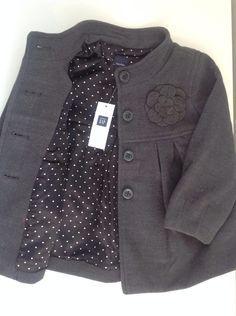 casaco infantil feminino gap