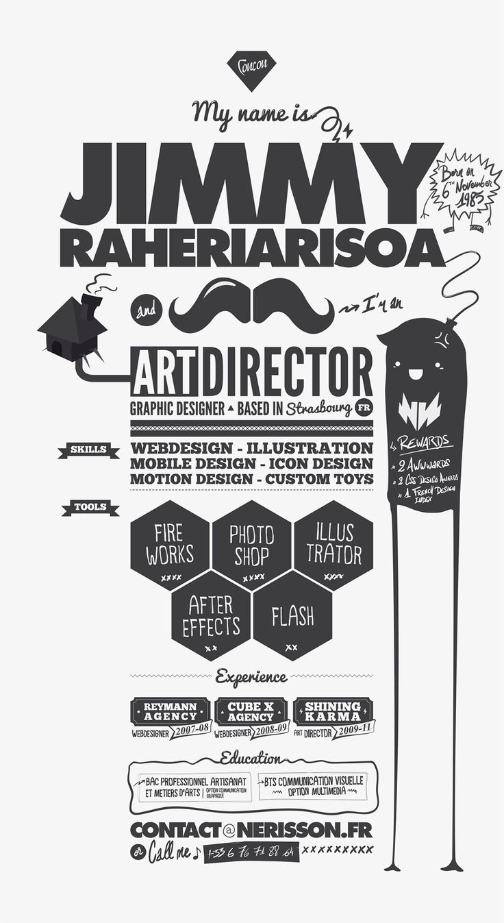 17 best Creative Resumes images on Pinterest | Resume design ...