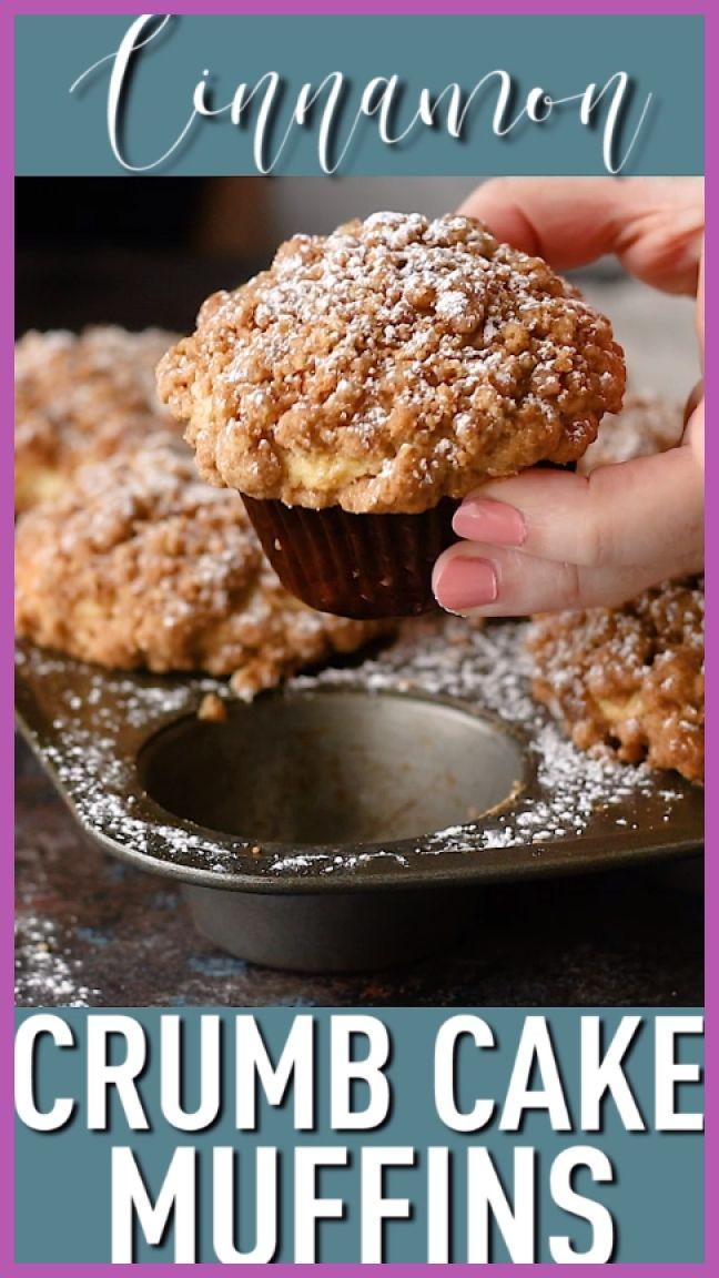 Muffin Recipes 16687 Crumb Cake Muffins Follow Us Denisesmith0379 In 2020 Desserts Crumb Cake Muffins Coffee Cake Recipes