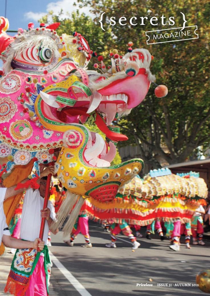 Issue #31 Autumn 2012. Bendigo's iconic Chinese Dragon. Photo courtesy Bendigo Tourism