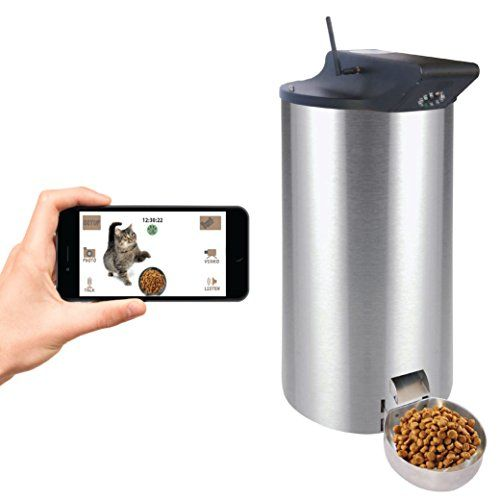 metal lbs dog by holds pet agree automatic pound feeder
