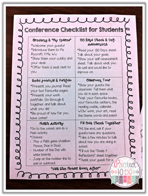 Preparing Student Portfolios & Student-Led Conferences - Proud to be Primary