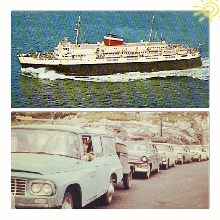 FLASHBACK FRIDAY: Waiting in line in Port Aux Basques to board the ferry William Carson on route North Sydney.