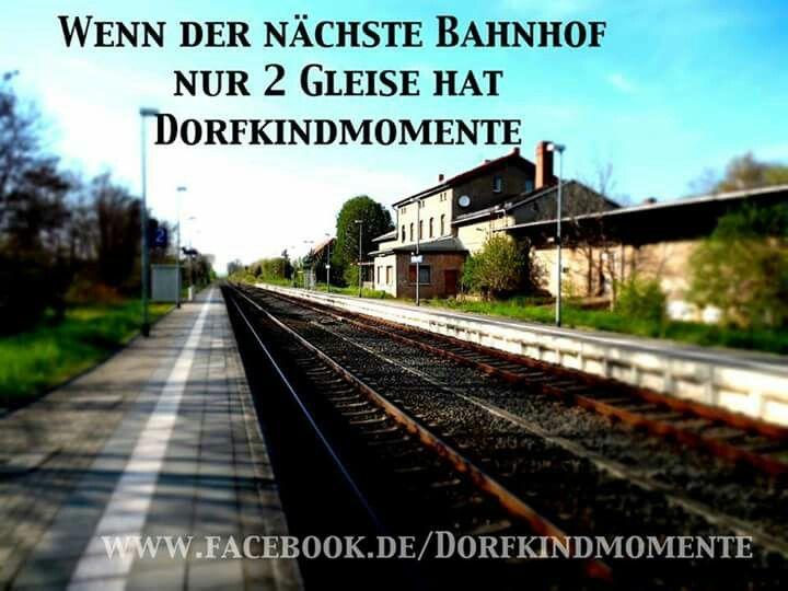 ...wenn der nächste Bahnhof nur...!!!❤❤❤