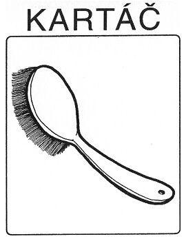 Mycí prostředky – hygiena - kartáč