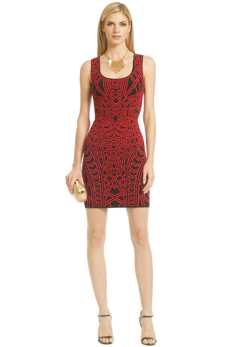 RVN Rouge Puzzle Solver Dress