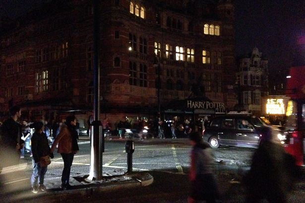 'The real Black Friday': Power cut at Piccadilly Circus sees famous big screens go eerily dark #black #friday #power #piccadilly #circus…