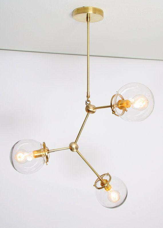 Handmade light fixture 39 elemental no 3 39 light fixtures handmade and lights - Lindsey adelman chandelier knock off ...