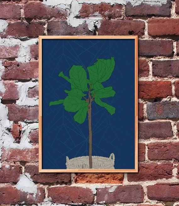 Fiddle Tree Printable Art by gendots