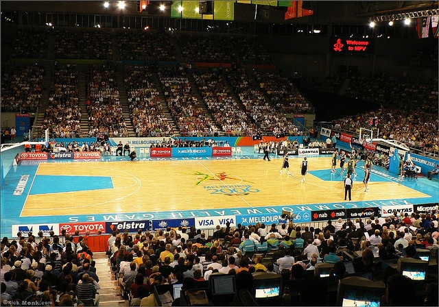I loved going to the basketball at the 2006 Commonwealth Games
