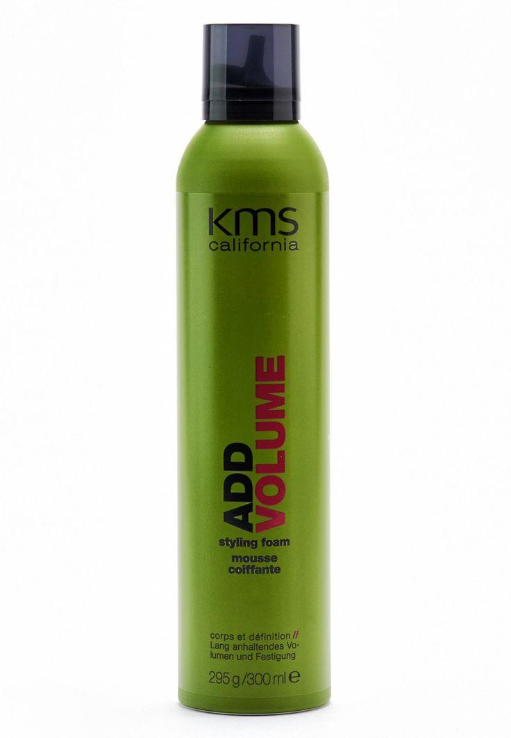 KMS Addvolume - Styling Foam - 300ml - Der KMS Addvolume - Styling Foam sorgt für volles, voluminöses Haar. Da der Schaum die Haare auf schonende Weise festigt, profitiert man von lang anhaltenden Frisuren. Besonders vorteilhaft: Der Styling Foam enthält kein Alkohol und ist somit auch für empfindliche Haare geeignet.   Ergebnis: Mit dem KMS Addvolume - Styling Foam kann man seinen Haaren mehr Schwung und Volumen verleihen. Ob offene Haare, stilvolle Steckfrisur oder lockerer Pferdeschwanz…