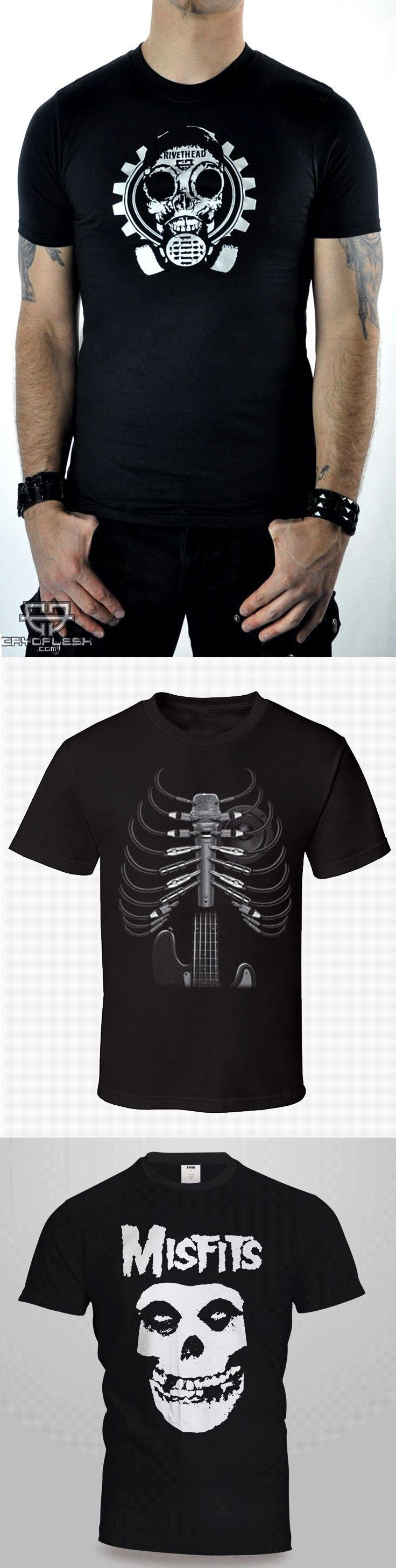 Shop punk skulls T-shirts for men at RebelsMarket.