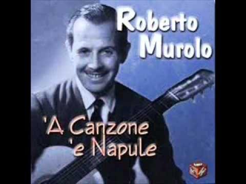 """▶ Roberto Murolo, Grand Master of Neapolitan Song, Sings """"Core 'Ngrato."""""""