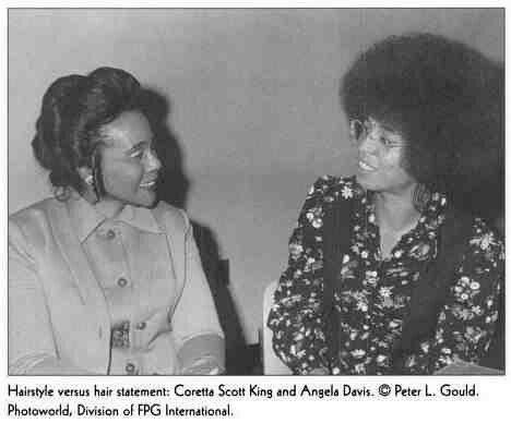 Coretta Scott King & Angela Davis