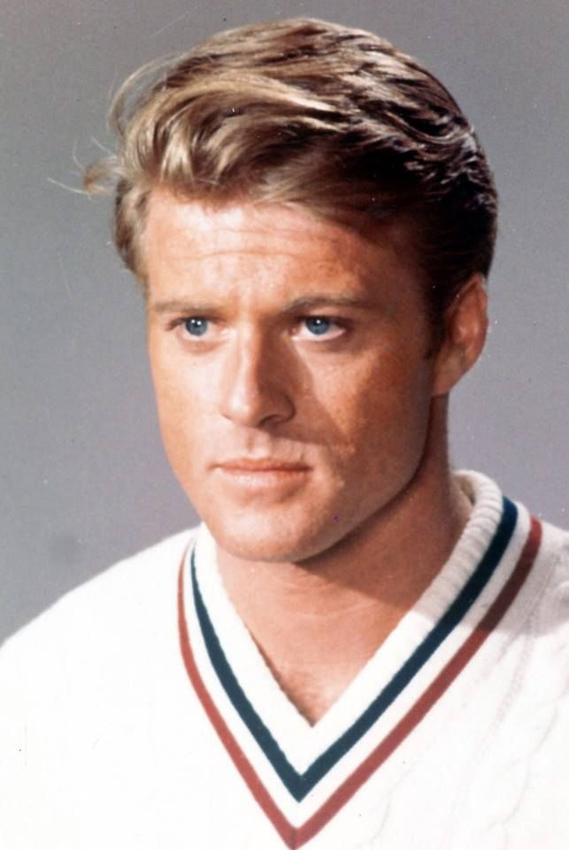 robert redford beard