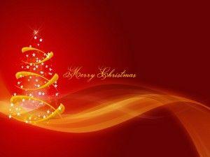Mensaje navideño junto a un árbol                                                                                                                                                     Más