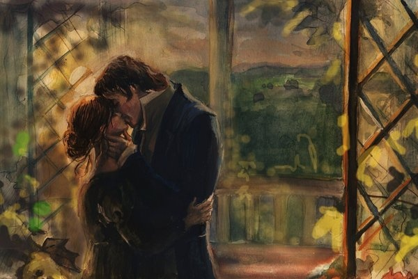 """You may only call me Mrs. Darcy when you are completely, and perfectly, and incandescently happy."""