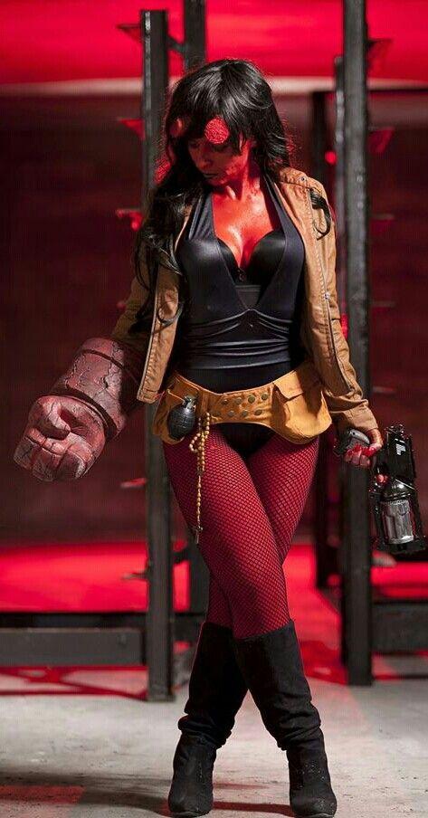 Hellgirl #Rule63 #cosplay