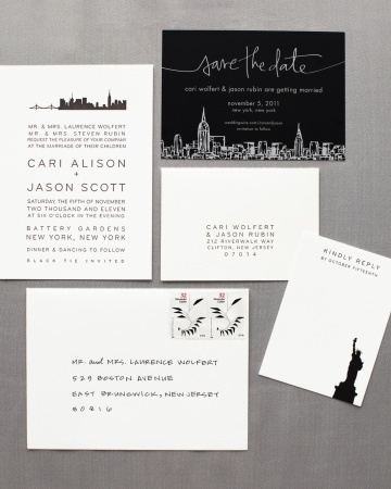 wedding invitations nyc 22 best images about nyc theme invites on 9761