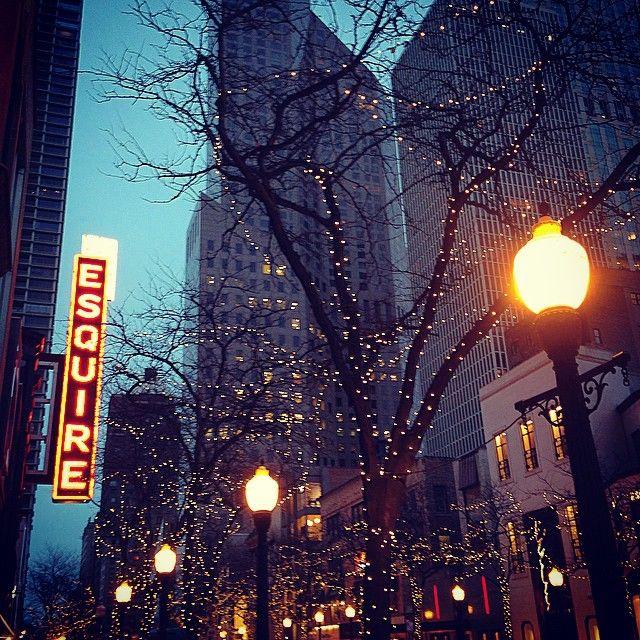 #Chicago illuminata a festa