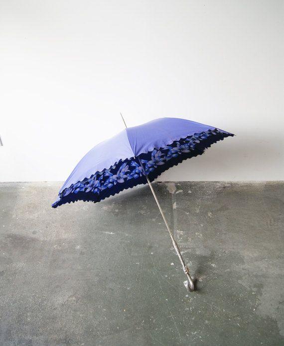 Original 50s Schirm - Stockschirm - Regenschirm - Sonnenschirm - Rockabella