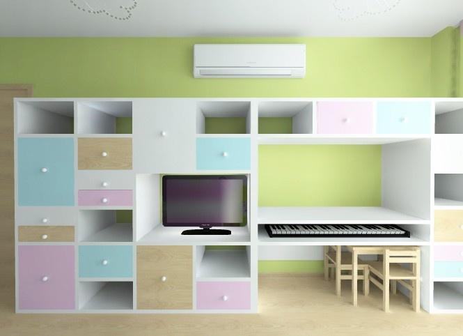 Idea mueble para el cuarto...