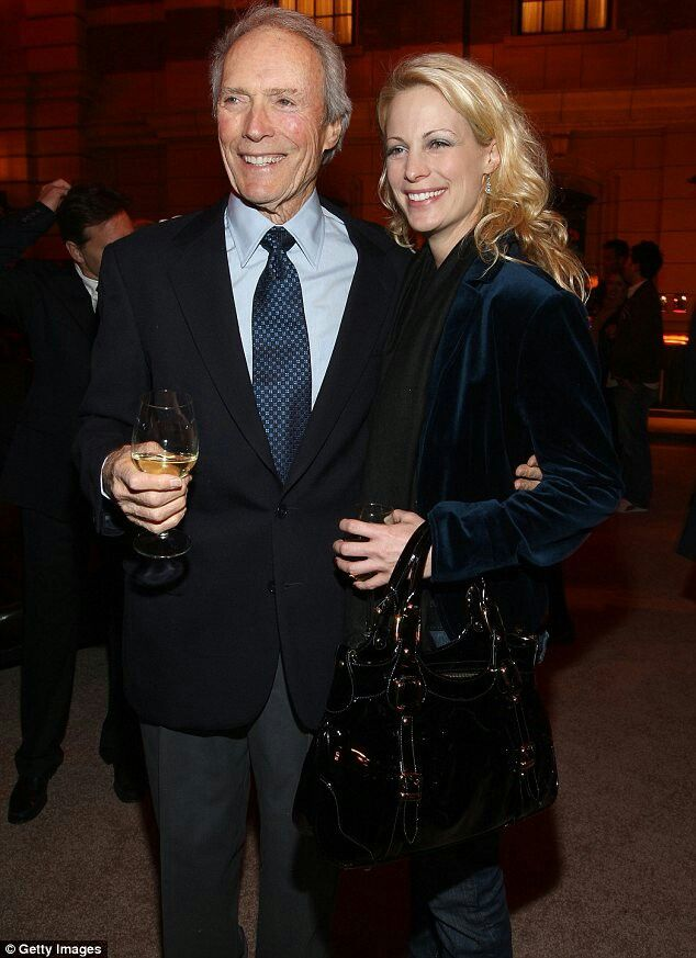 Daughter Alison and Clint Eastwood