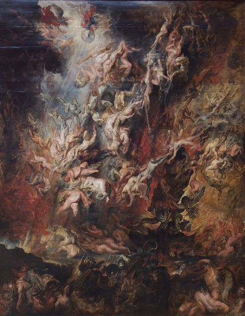 "Peter Paul Rubens, ""Fall of the Damned"". 
