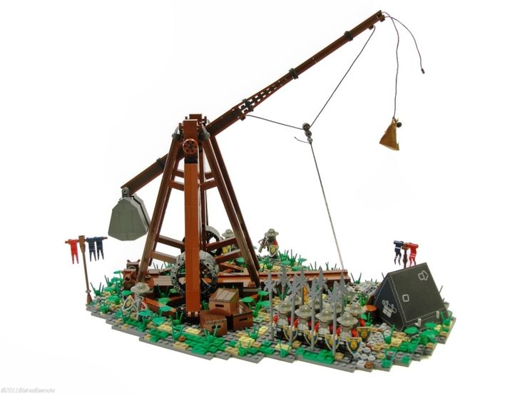 How To Build A Mini Lego Trebuchet Woodworking Projects Plans