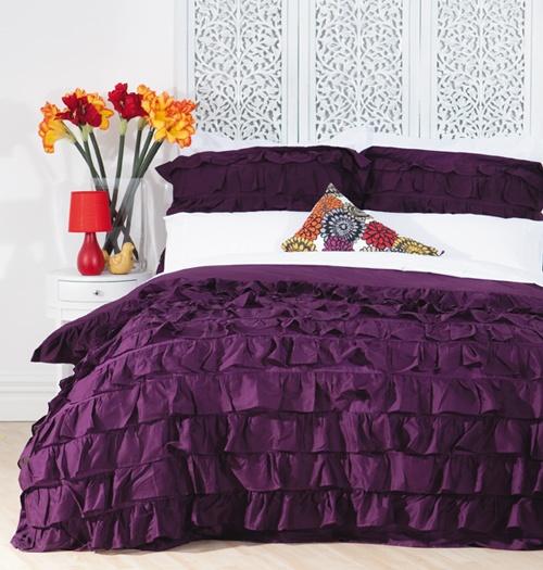 Ruffles Duvet Cover Set Bedding Design Pinterest